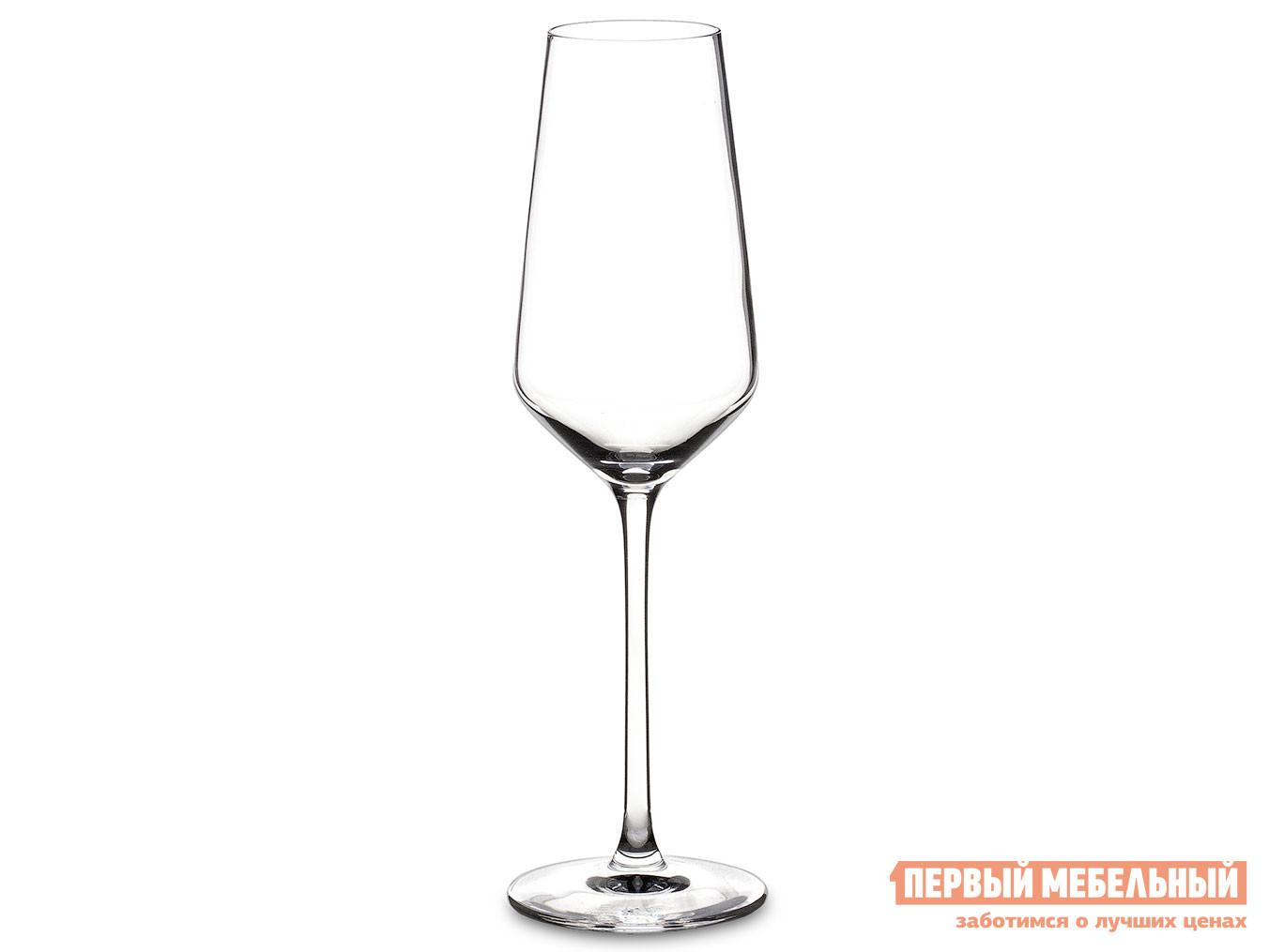Набор бокалов Первый Мебельный Набор фужеров (бокалов) для шампанского УЛЬТИМ 6шт 210мл недорого