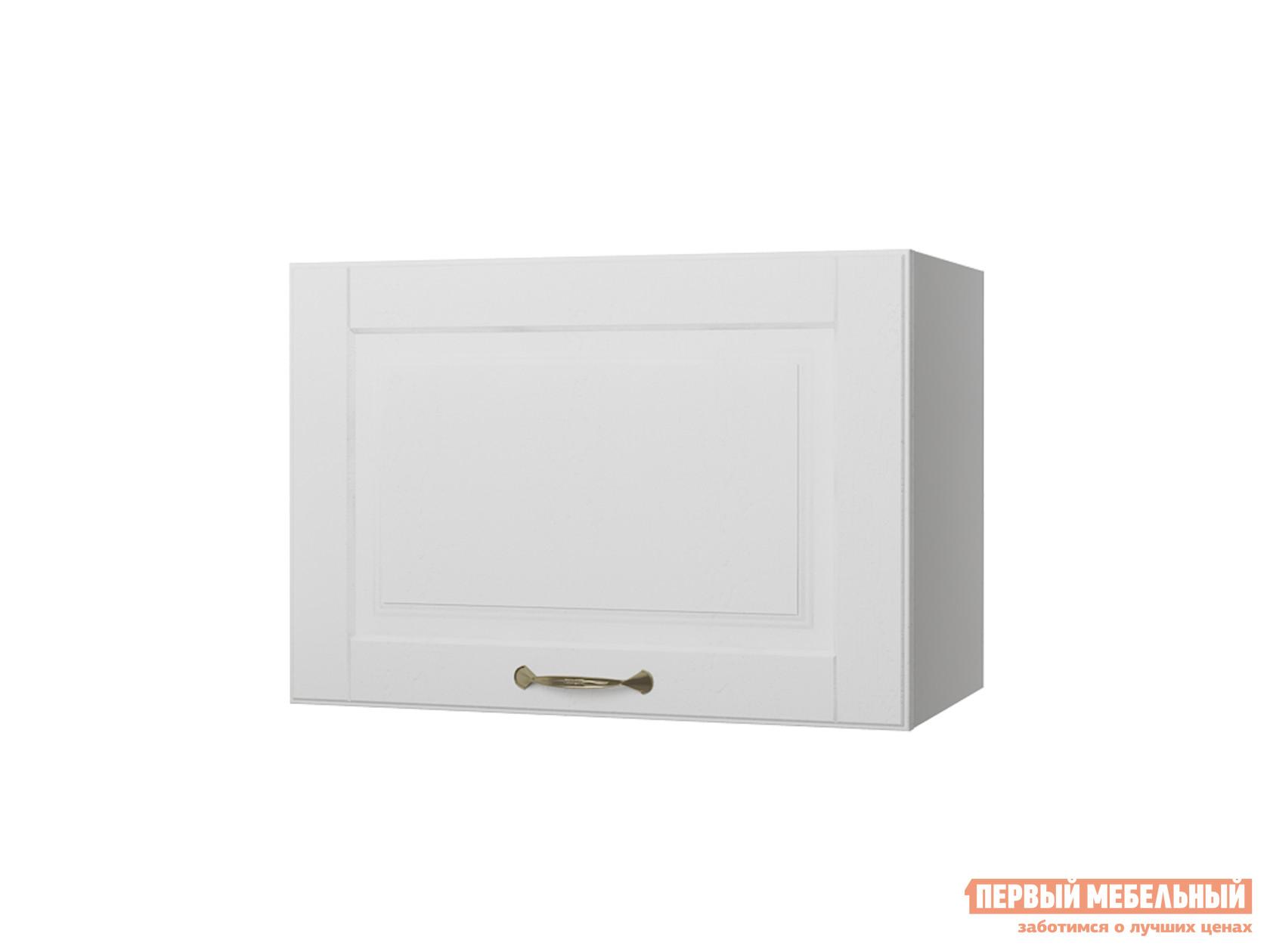 Кухонный модуль  Шкаф антресольный 1 дверь 50 см Палермо Бианко