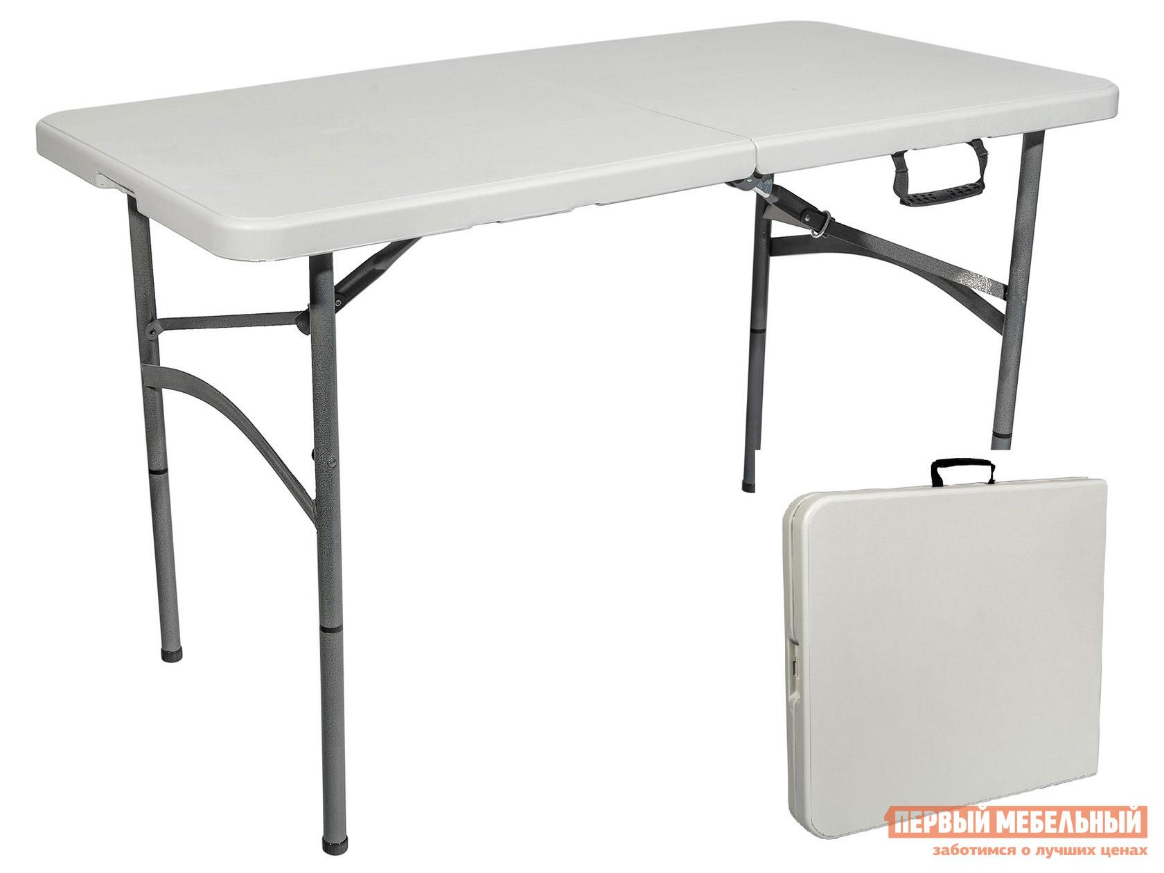 Стол для пикника  Стол складной-чемодан NEW Серый, пластик