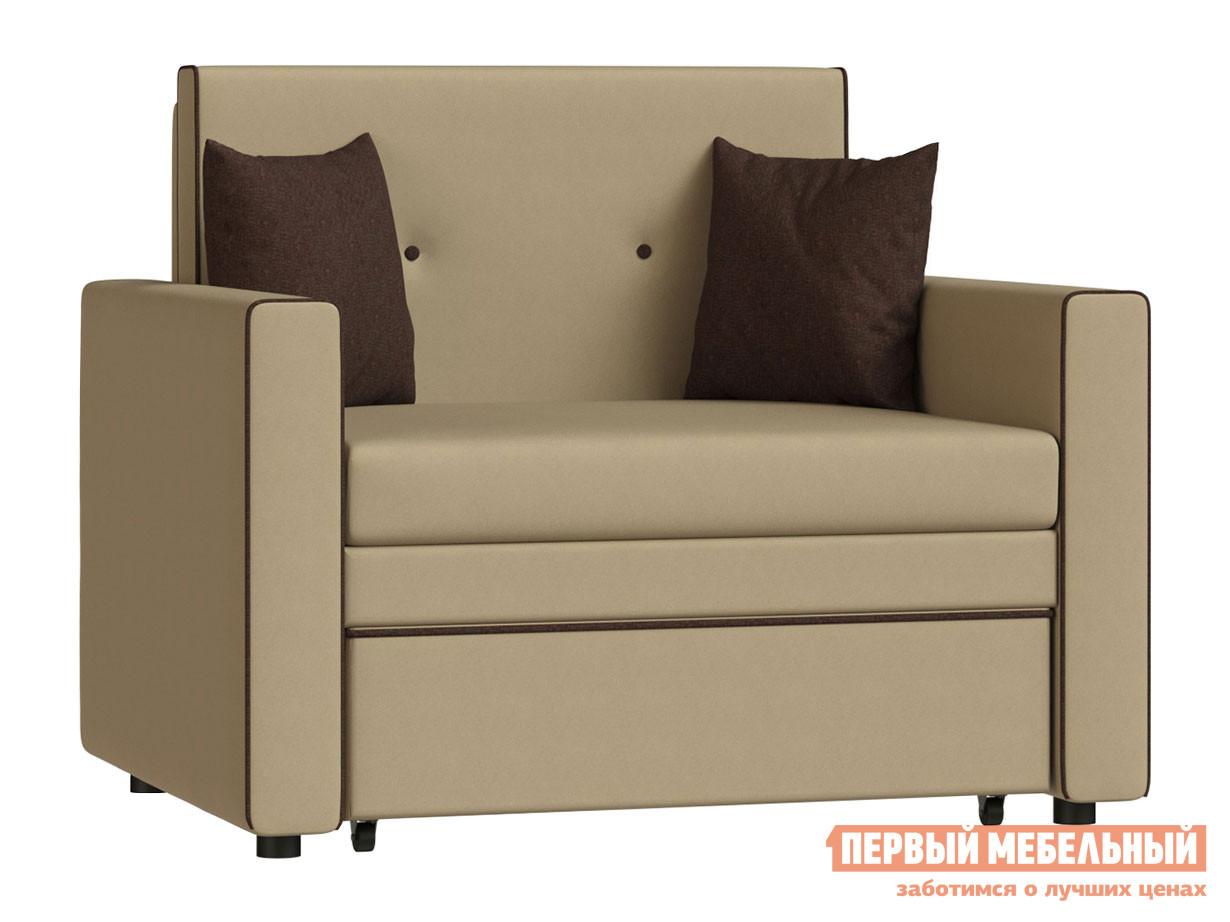 Кресло  Кресло-кровать Найс Беж, рогожка НижегородмебельИК 95376