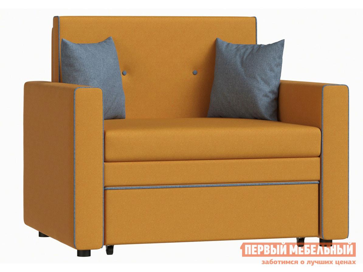 Кресло  Кресло-кровать Найс Тыквенный, рогожка — Кресло-кровать Найс Тыквенный, рогожка