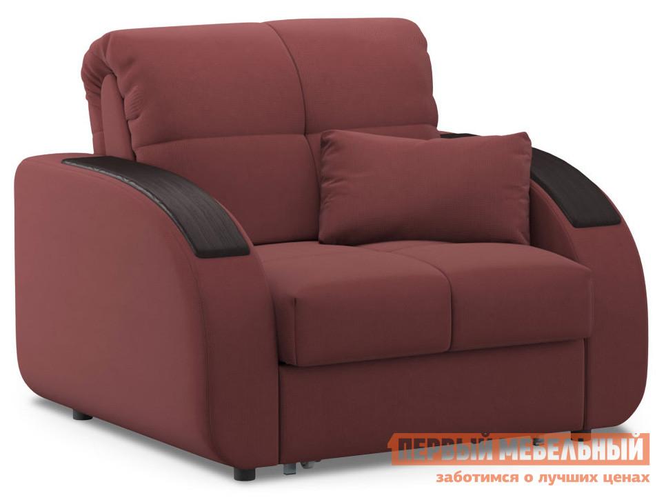 Кресло  Кресло-кровать Уильям / Люкс Бордо, велюр, Пенополиуретан Живые диваны 118930