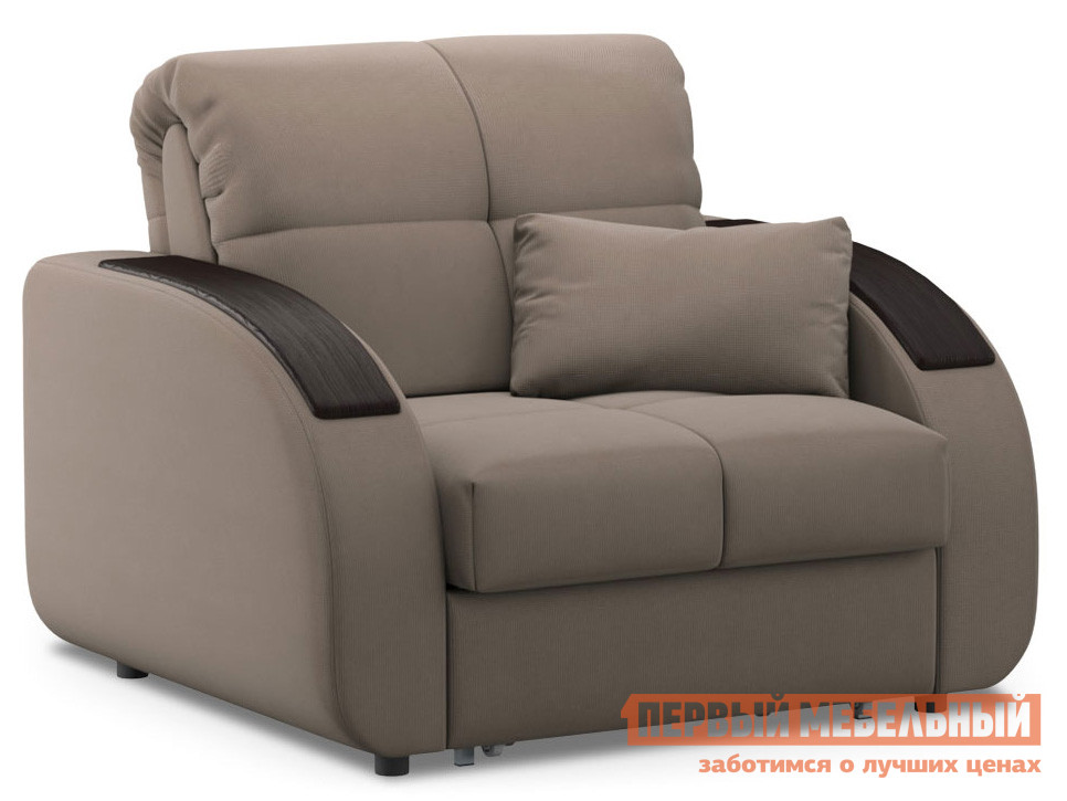 Кресло  Кресло-кровать Уильям / Кресло-кровать Уильям Люкс Латте, велюр , Независимый пружинный блок — Кресло-кровать Уильям / Кресло-кровать Уильям Люкс Латте, велюр , Независимый пружинный блок