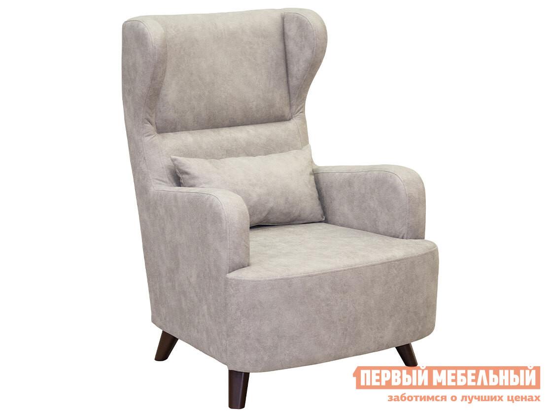 Кресло  Кресло Меланж Айвори, искусственная замша