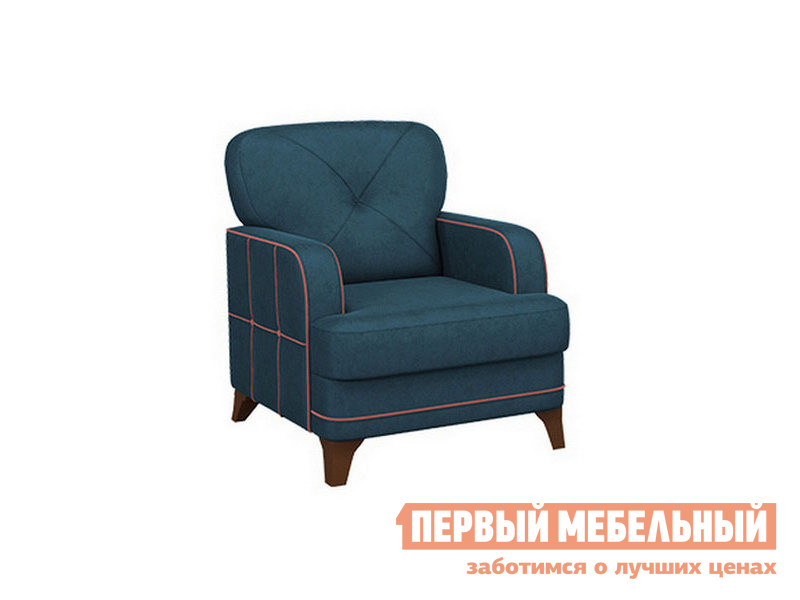 Кресло  Черри Деним, велюр