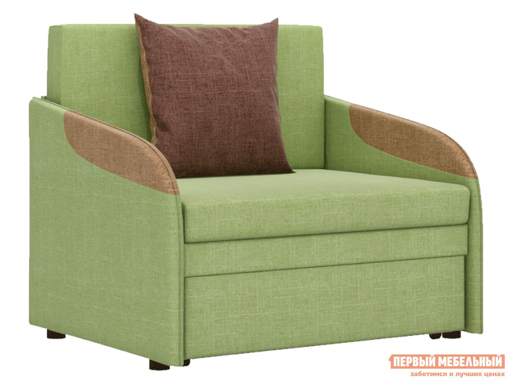 Кресло  Кресло-кровать Громит Яблочно-зеленый, велюр