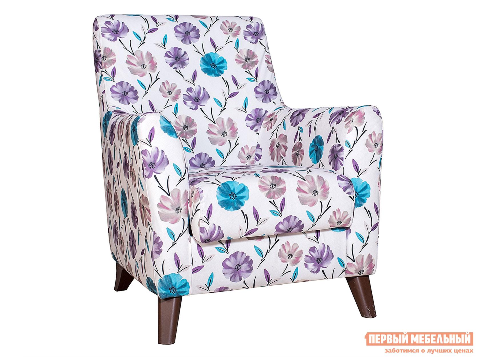 Кресло Либерти Вьюнки 207, велюр фото
