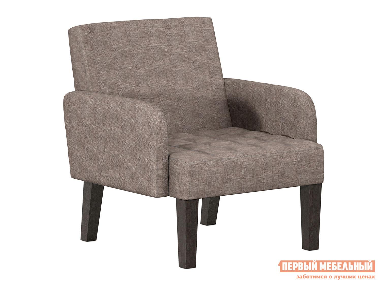 Кресло Квадро Серо-сиреневый, велюр фото