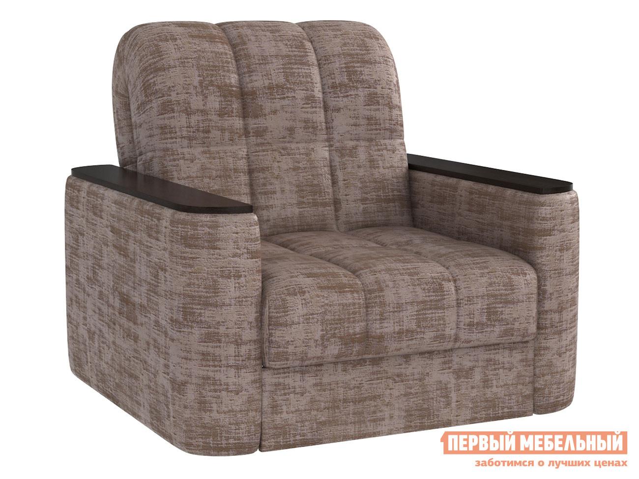 Кресло  Лукас Коричневый металлик, велюр — Лукас Коричневый металлик, велюр