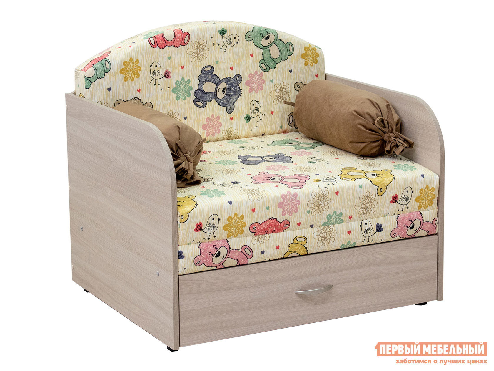 Кресло  Кресло-кровать Антошка 1 Мишутка, велюр — Кресло-кровать Антошка 1 Мишутка, велюр