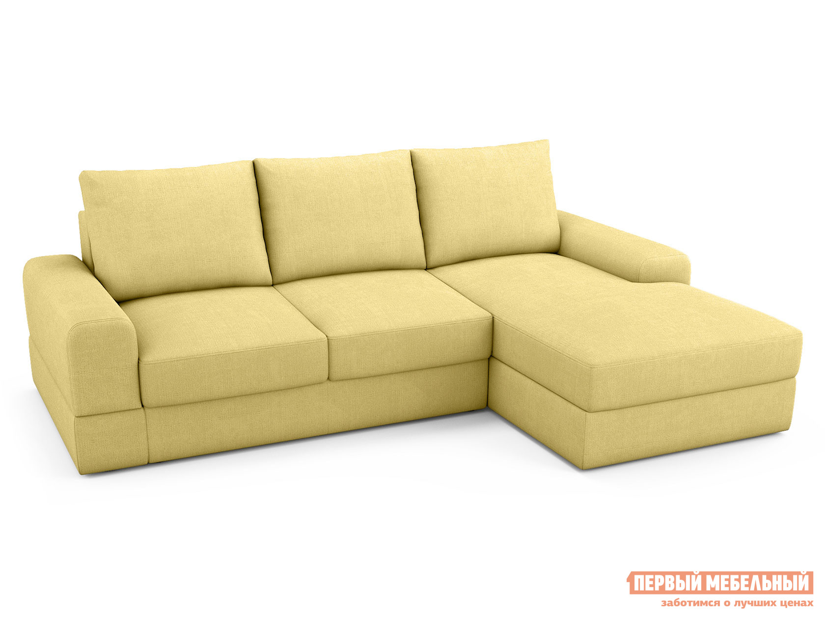 Угловой диван Первый Мебельный Угловой диван Эдинбург У