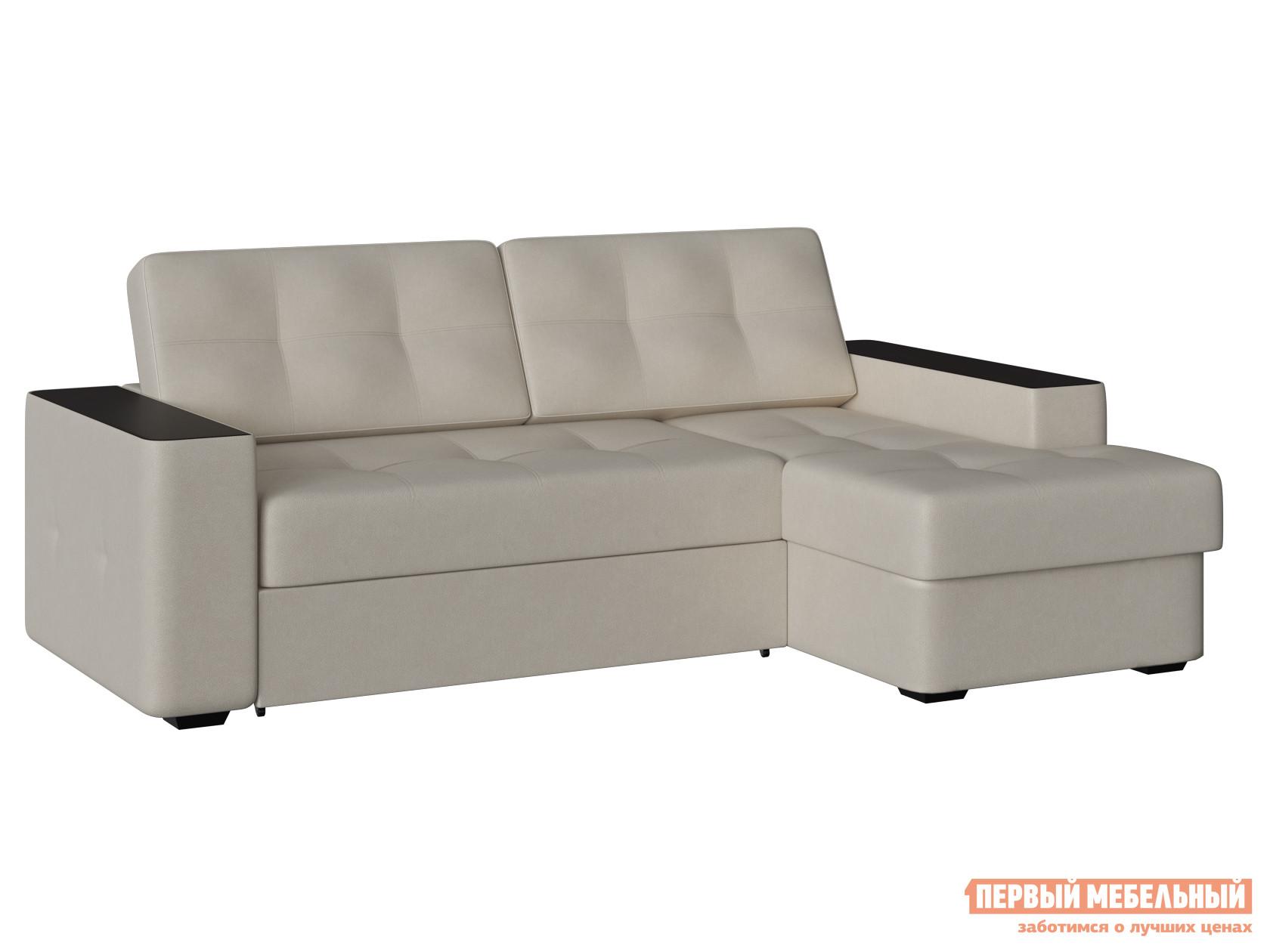 Угловой диван-кровать Первый Мебельный Диван Брюссель