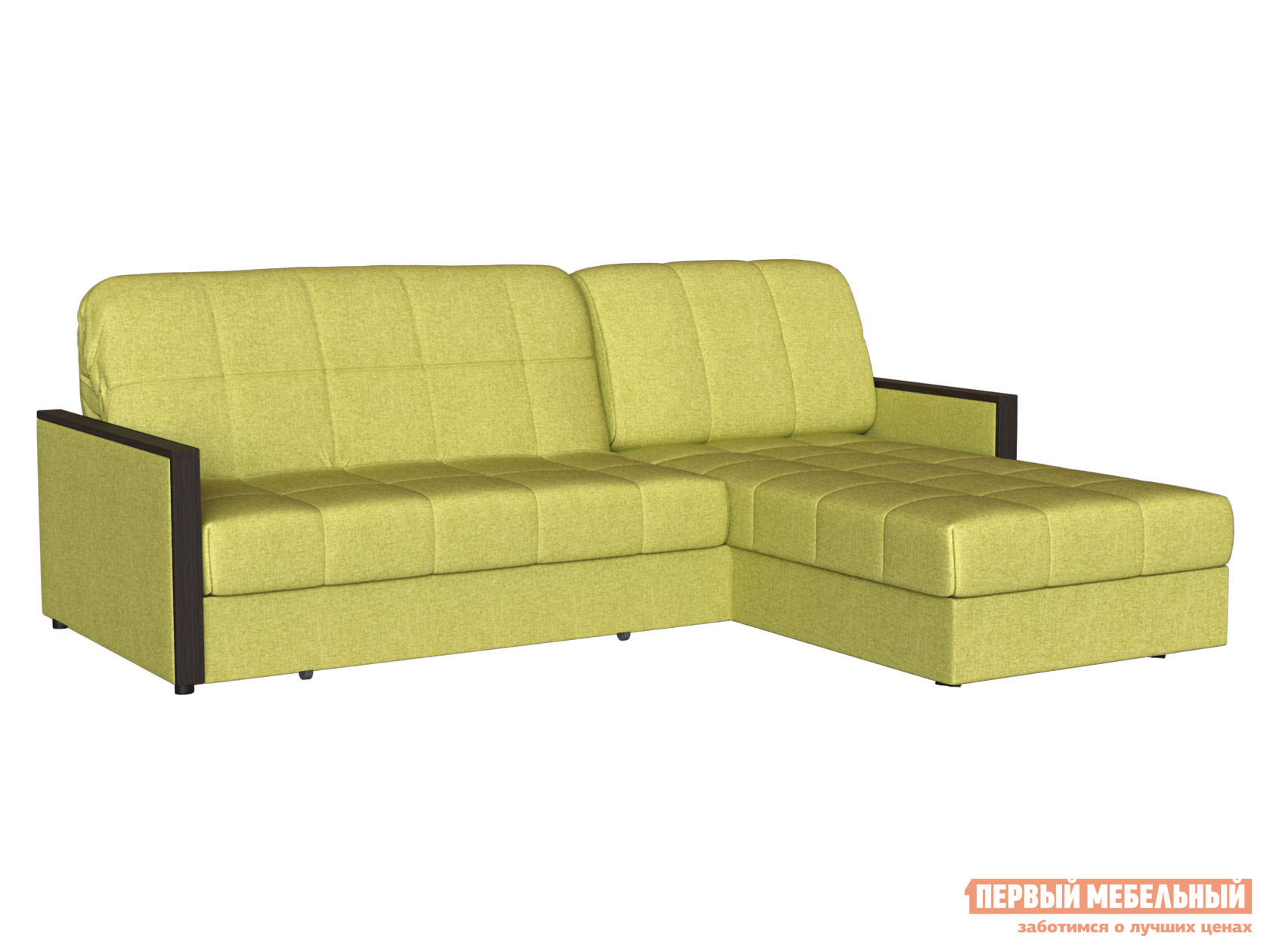 Угловой диван Первый Мебельный Диван Орион с оттоманкой
