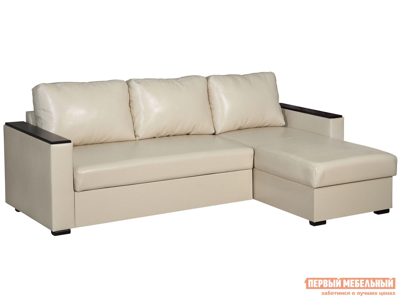 Угловой диван Первый Мебельный Диван Дипломат угловой