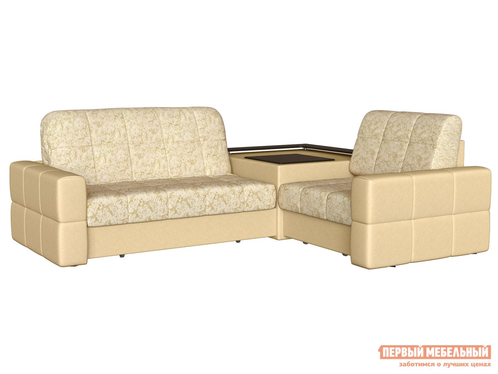 Угловой диван Первый Мебельный Диван Марио угловой Люкс
