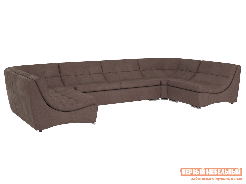 Угловой диван Первый Мебельный Модульная система Сан-Диего с механизмом, вариант 4