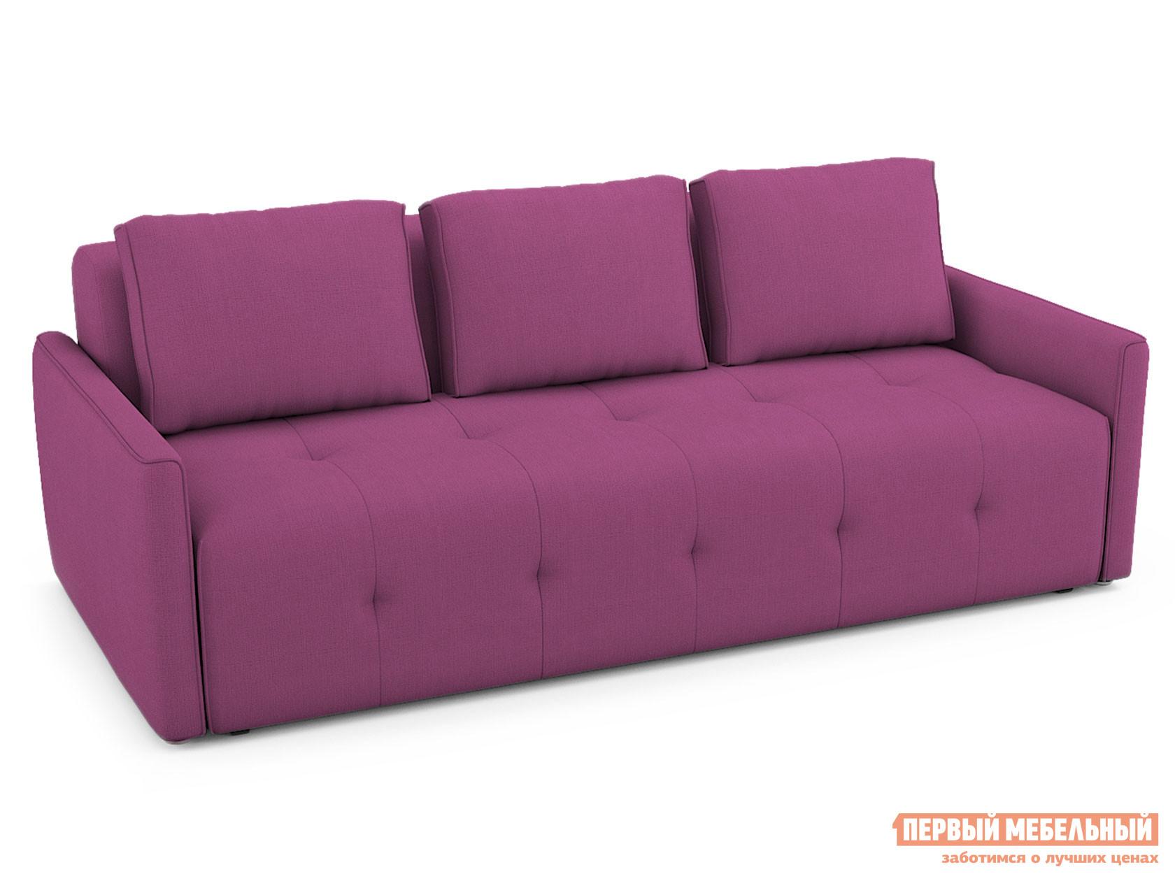 Прямой диван  Прямой диван Бронкс Пурпурный, рогожка