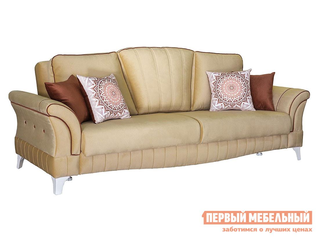 Прямой диван Первый Мебельный Диван Каролина