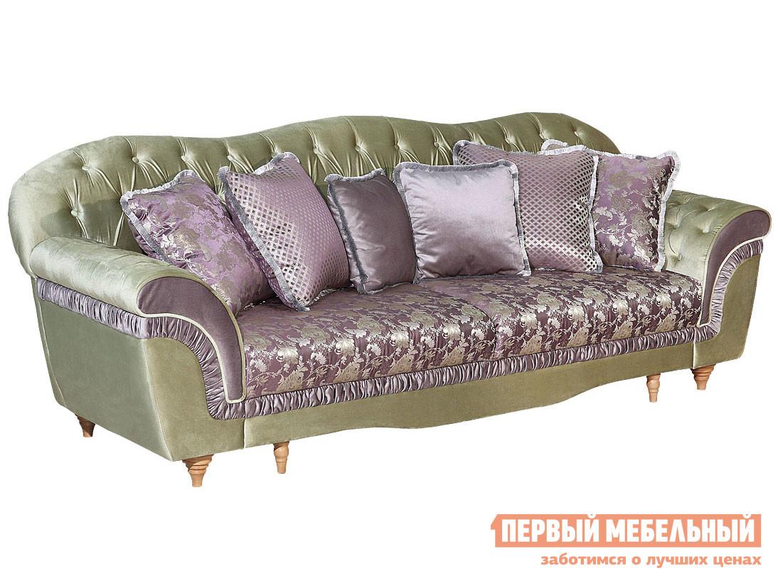 Прямой диван Первый Мебельный Диван Барокко