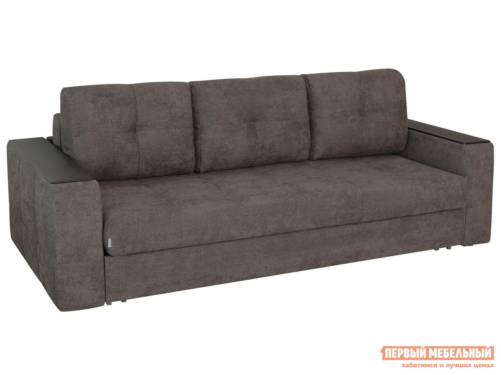 Прямой диван  Прямой диван Сиэтл 1 Люкс Кофе, велюр — Прямой диван Сиэтл 1 Люкс Кофе, велюр