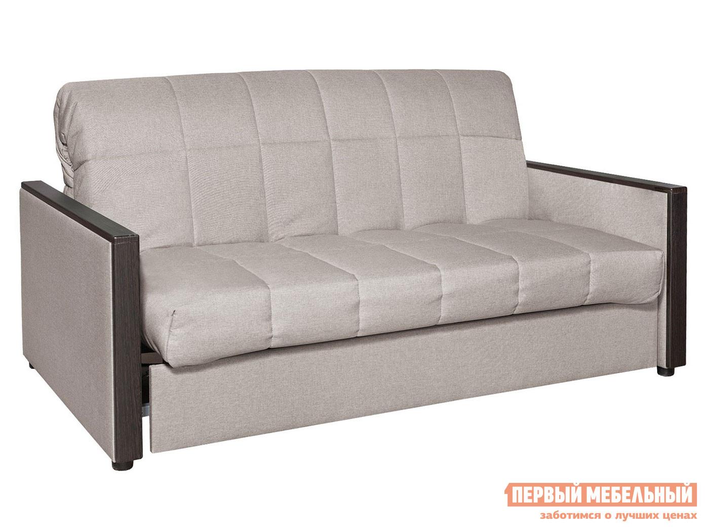Прямой диван Диван Орион Люкс Серо-бежевый, рогожка, 180х200 см фото