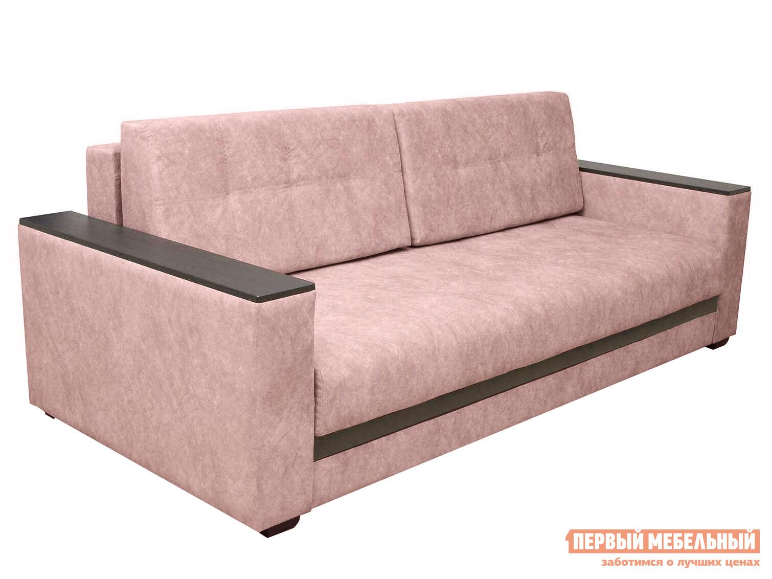 Прямой диван  Виргиния  Розовый Kashemir 810, велюр
