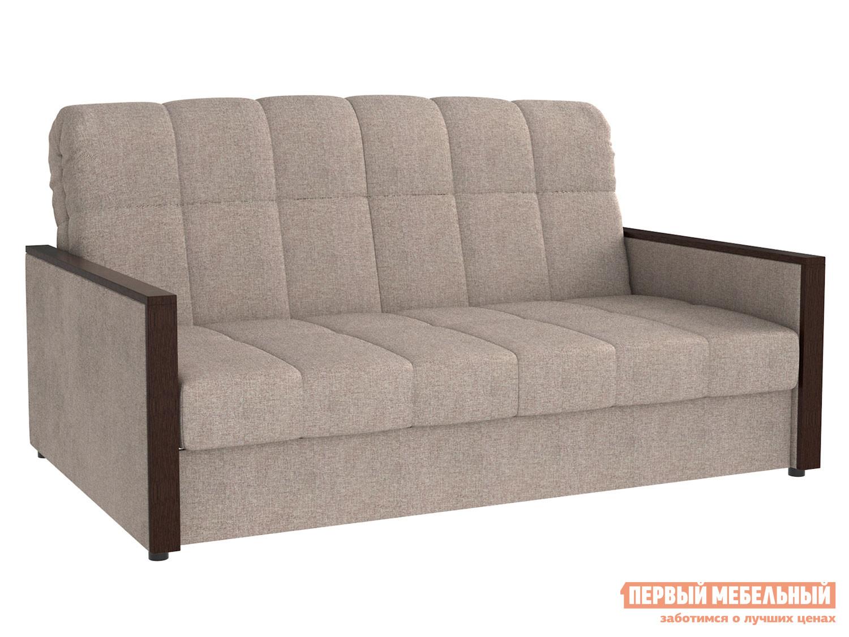 Прямой диван  Орион / Люкс Серо-бежевый, рогожка, 180х200 см, Независимый пружинный блок Мягкая Линия 118041
