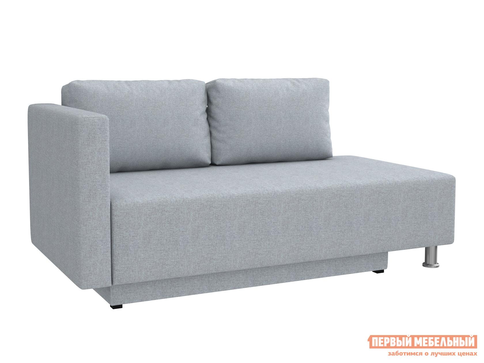 Прямой диван  Мэдисон Серо-голубой, рогожка, Универсальная — Мэдисон Серо-голубой, рогожка, Универсальная