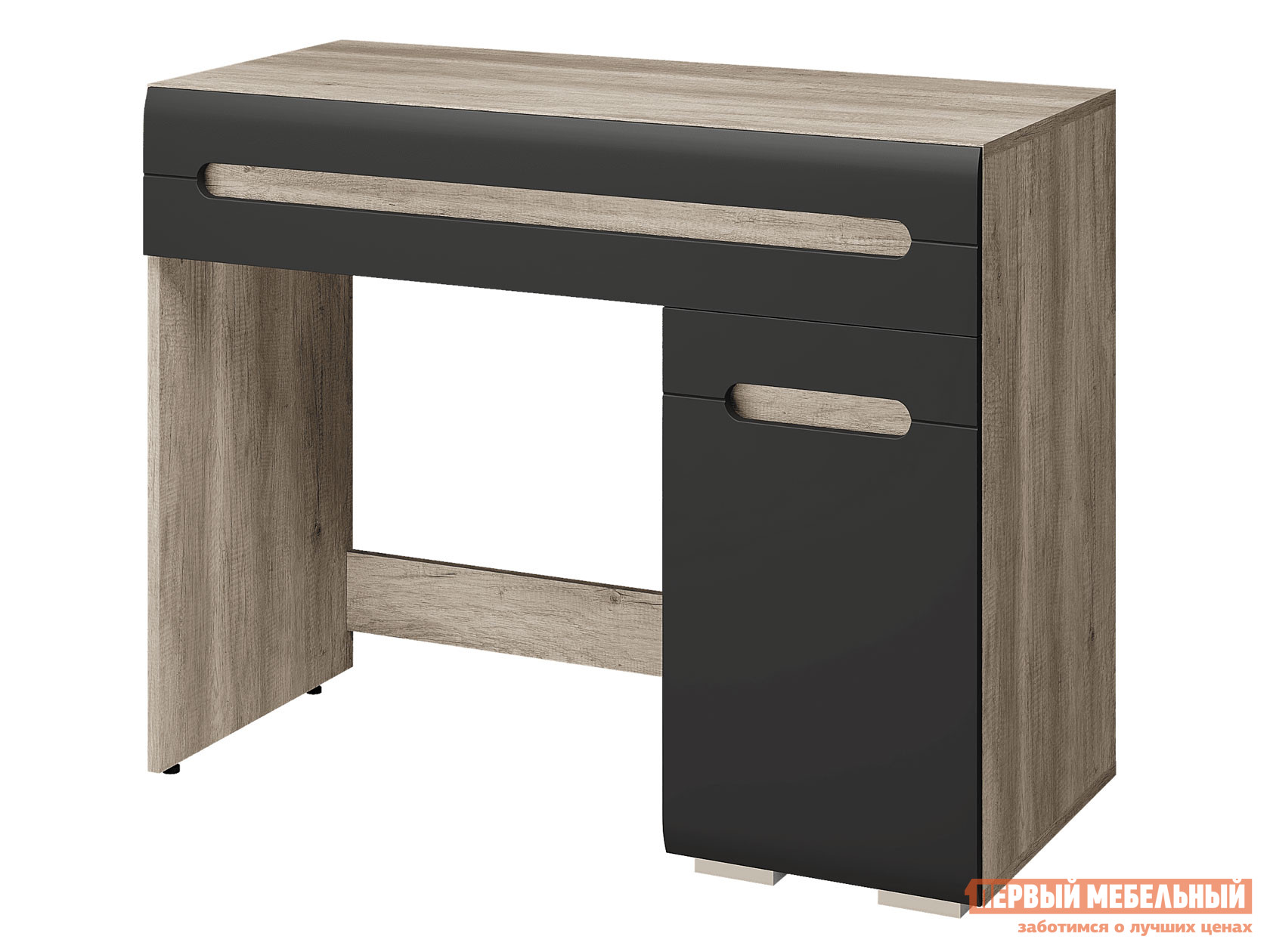 Туалетный столик  Стол Наоми Лайт Дуб Каньон / Графит нубук BTS 136665