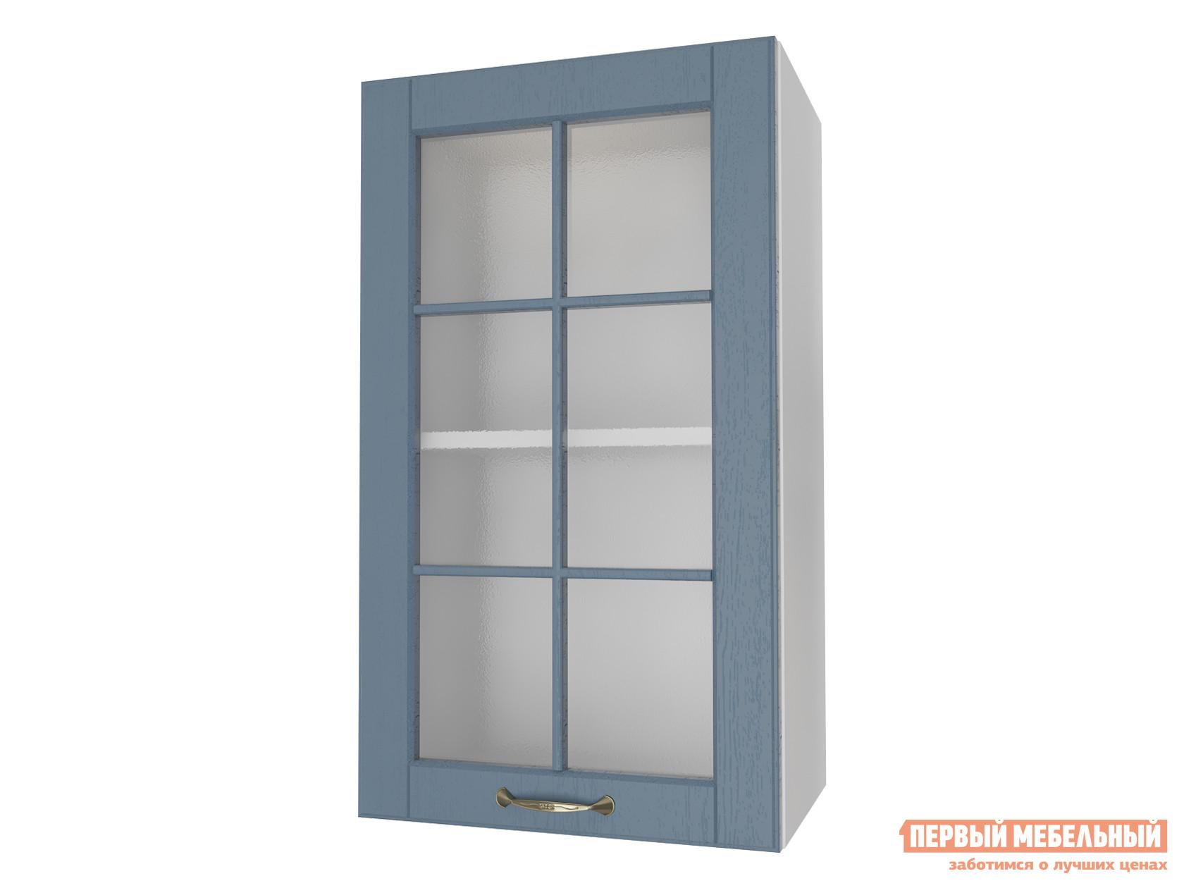 Кухонный модуль Первый Мебельный Шкаф 1 дверь со стеклом 40 см Палермо