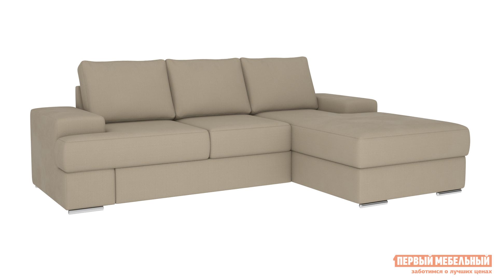 Угловой диван Первый Мебельный Угловой диван Тетрис Вип оттоманка