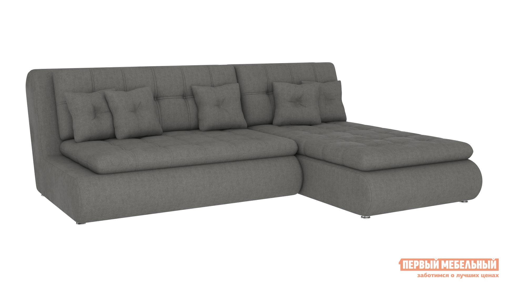 Угловой диван Первый Мебельный Диван Палермо с оттоманкой