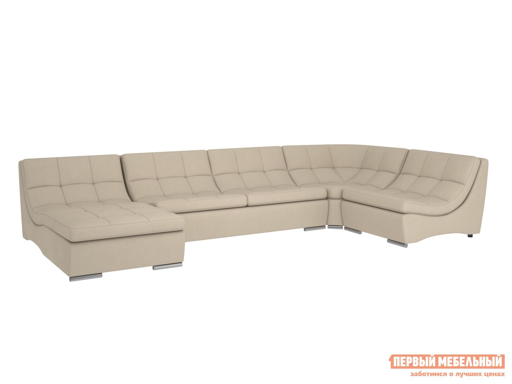 Угловой диван Первый Мебельный Модульная система Сан-Диего, вариант 3 модульная гардеробная система диван ру дели 8 белый