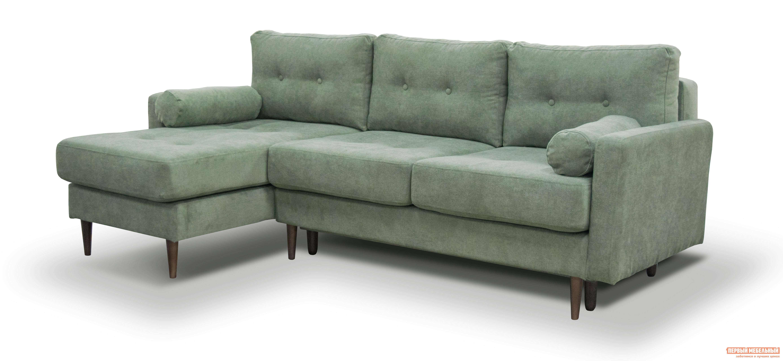 Угловой диван Первый Мебельный Диван Берген угловой