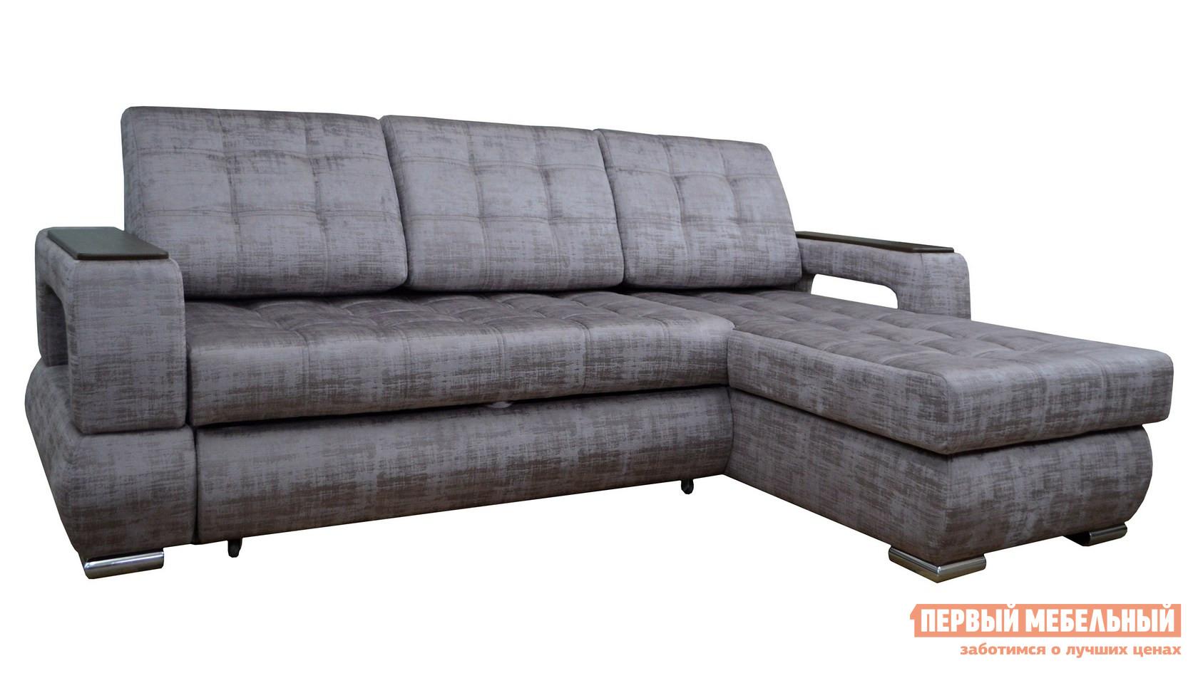 Угловой диван Первый Мебельный Диван Стелс угловой