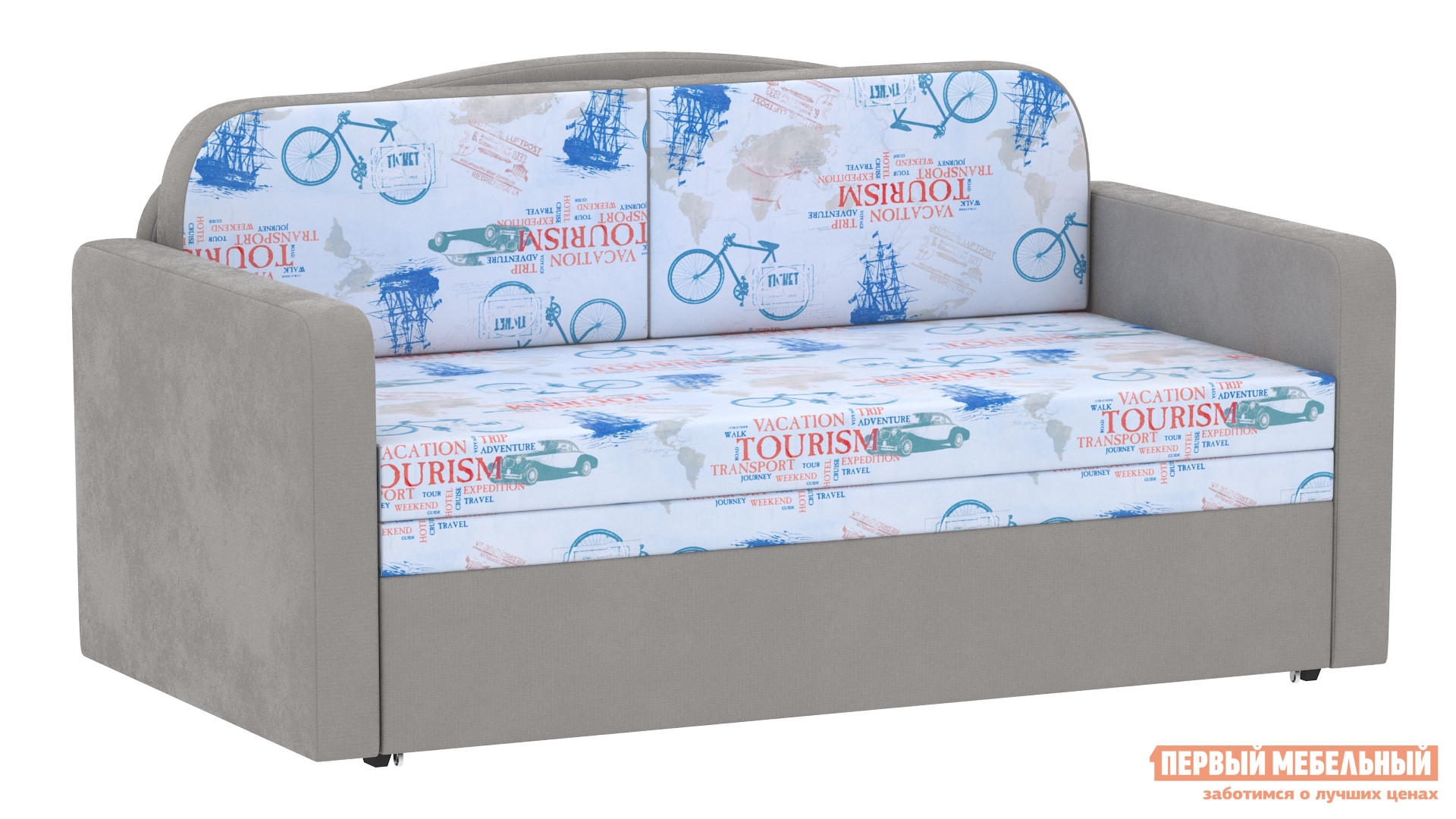 Прямой диван Первый Мебельный Диван Балу