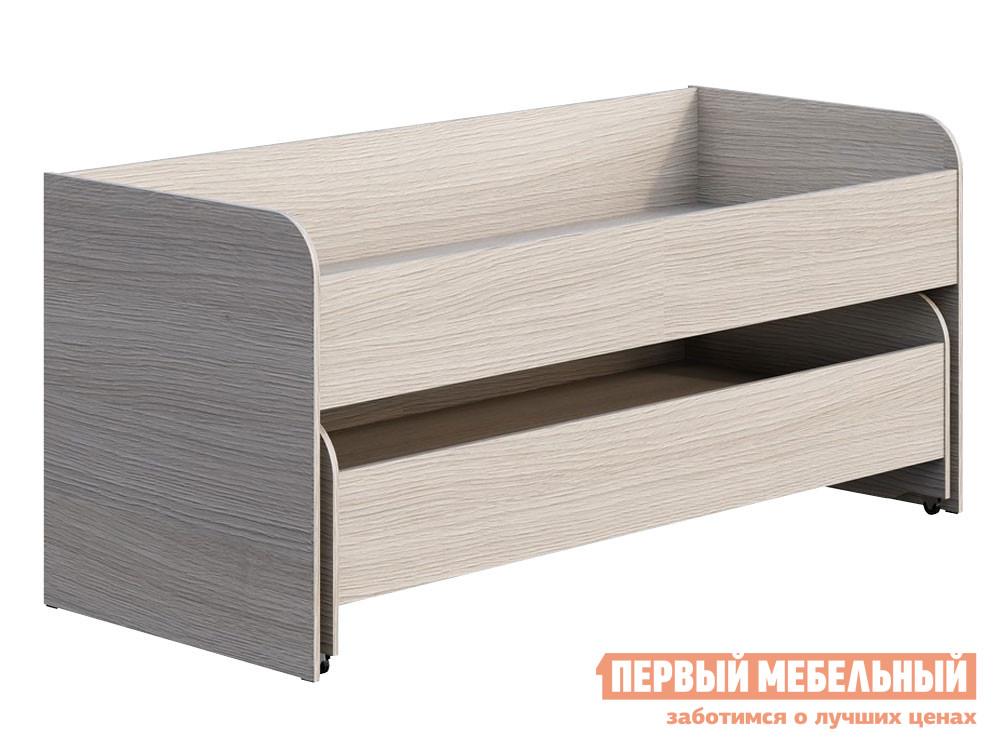 Детская кровать Первый Мебельный КР-015+КР-016 Кровать Мийа-3 двойная картотека пакс кр 3