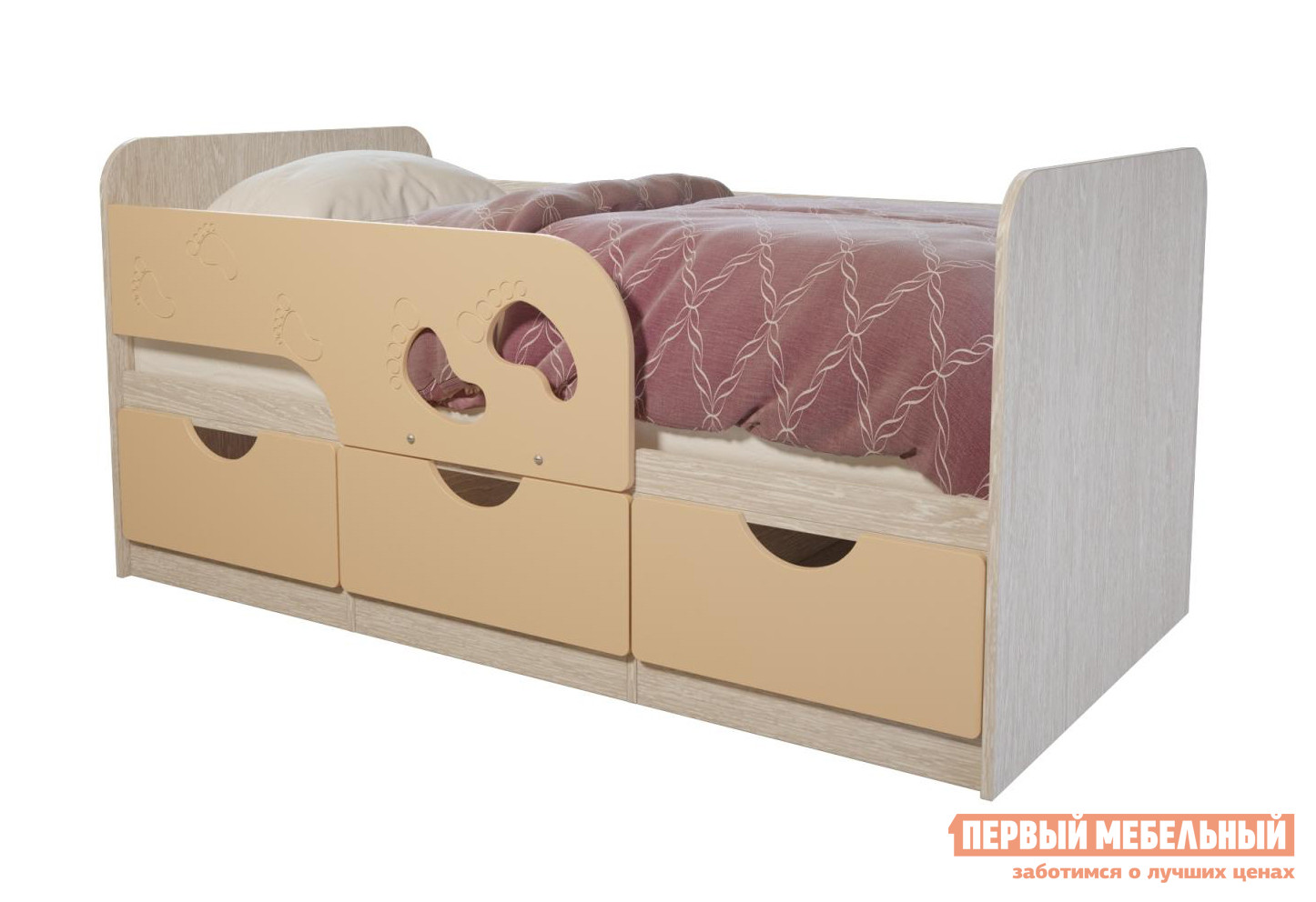 цена на Детская кровать Первый Мебельный Лего 1