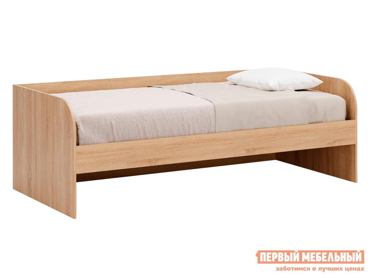 Детская кровать  Кровать Леон Дуб сонома, Без ящика — Кровать Леон Дуб сонома, Без ящика
