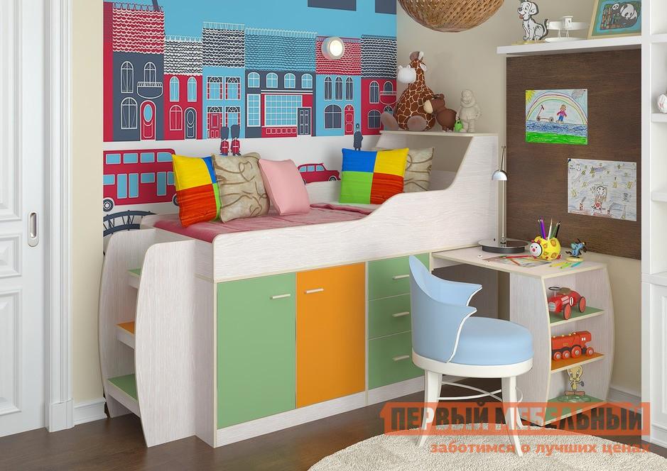 Кровать-чердак Первый Мебельный Кровать детская Минимакс детская кровать чердак невысокая рв