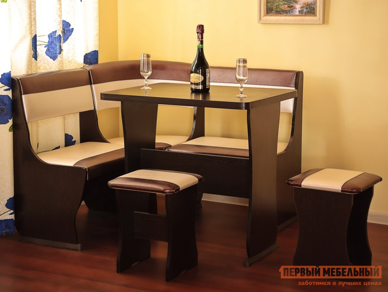 Кухонный уголок Первый Мебельный Кухонный уголок Альянс мини модульный кухонный уголок блюз