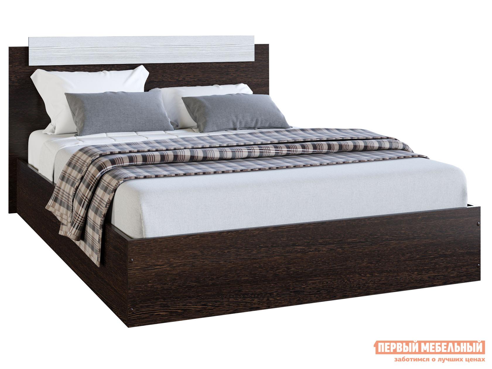 Двуспальная кровать  Кровать Эко Венге / Лоредо, 1400 Х 2000 мм — Кровать Эко Венге / Лоредо, 1400 Х 2000 мм