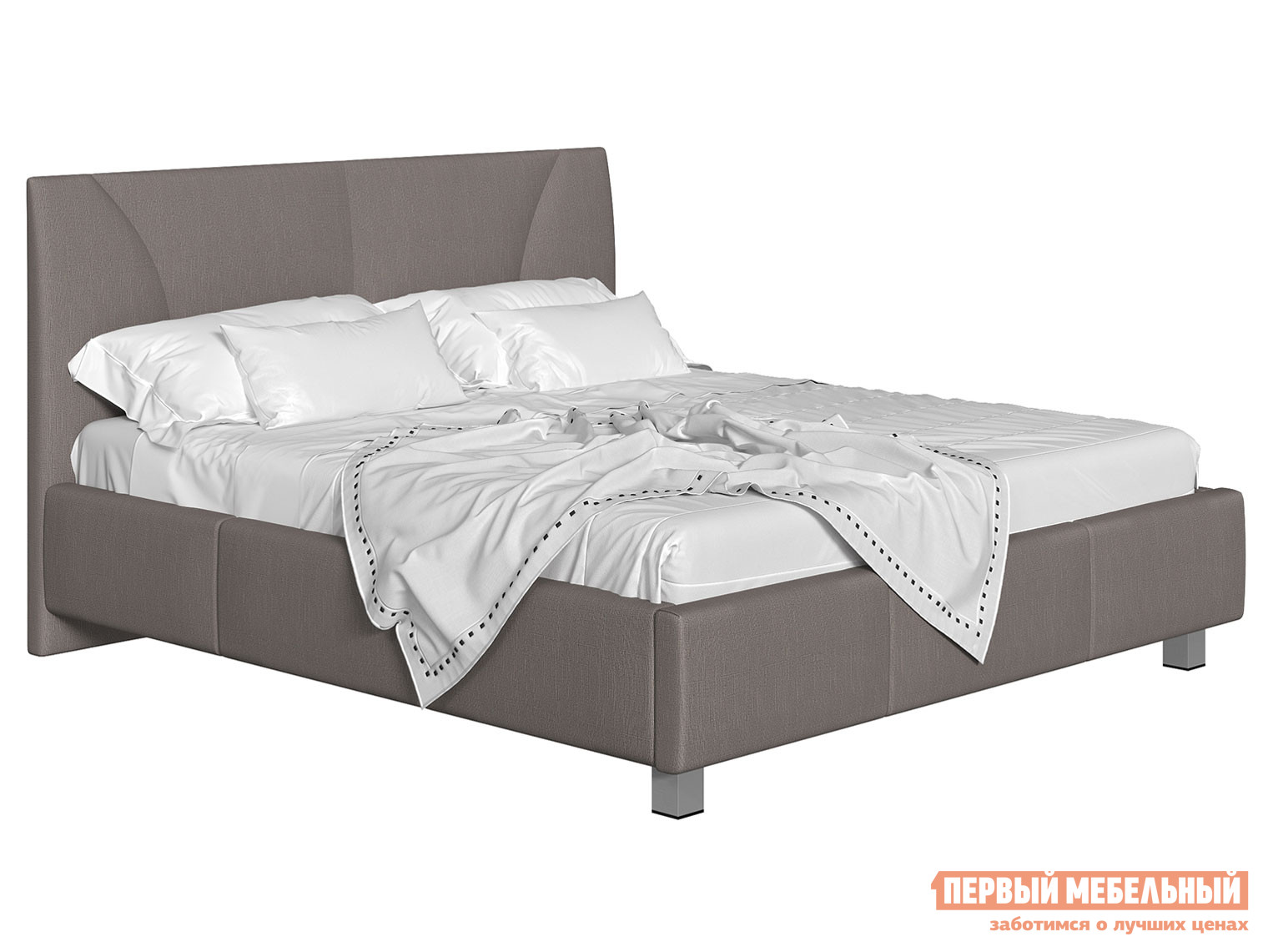 Двуспальная кровать Первый Мебельный Кровать с подъемным механизмом Севилья двуспальная кровать elisa аскона элиза с пм с подъемным механизмом 200 x 200