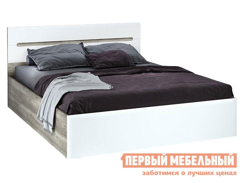 Двуспальная кровать Первый Мебельный Кровать Наоми Лайт 160х200 двуспальная кровать первый мебельный кровать оливия 160х200