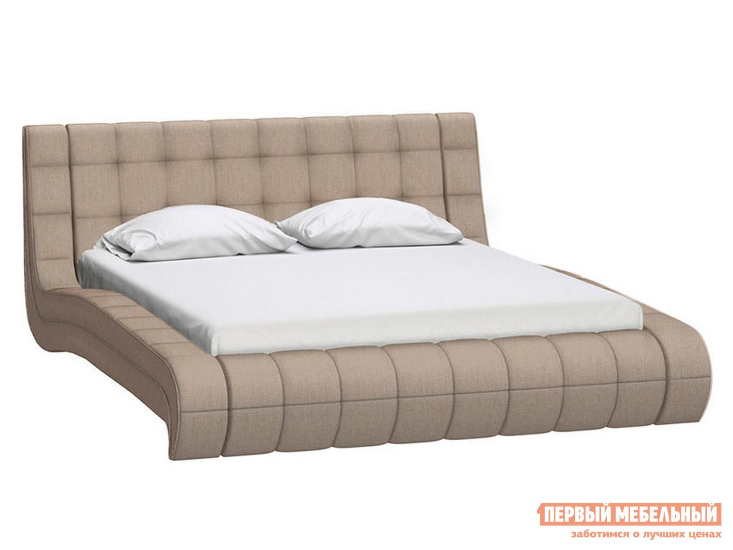 Двуспальная кровать Первый Мебельный Кровать Милано с ортопедическим основанием