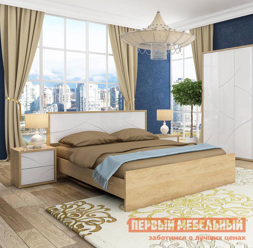 Двуспальная кровать Первый Мебельный Кровать Мадера