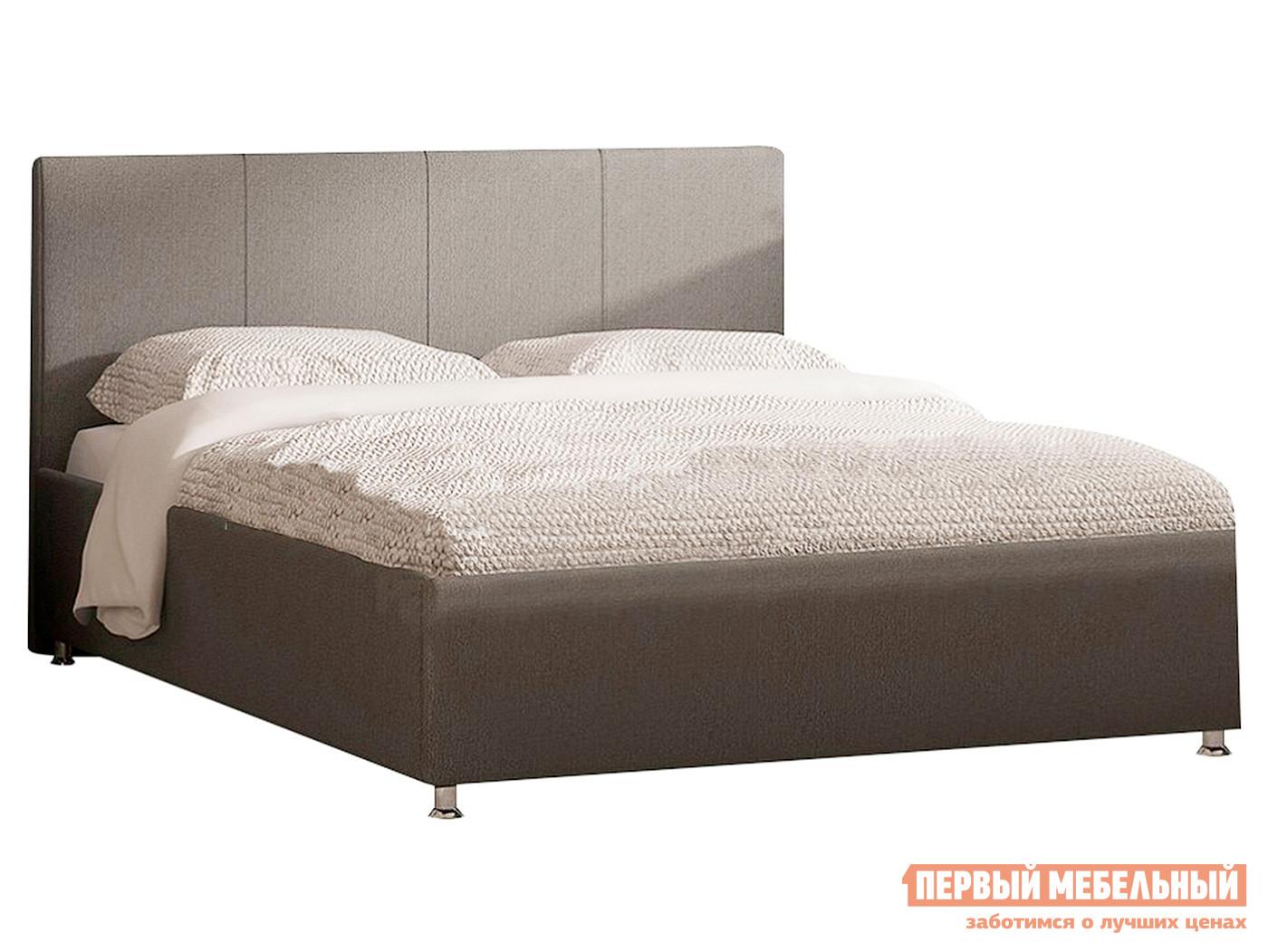 Двуспальная кровать Первый Мебельный Кровать Прато с ортопедическим основанием