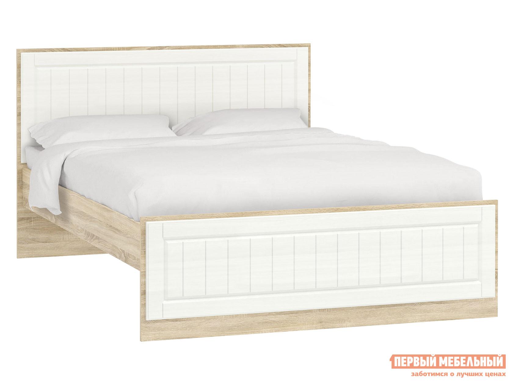 Двуспальная кровать Первый Мебельный Кровать Оливия Лайт НМ 040.34 двуспальная кровать первый мебельный кровать оливия 160х200