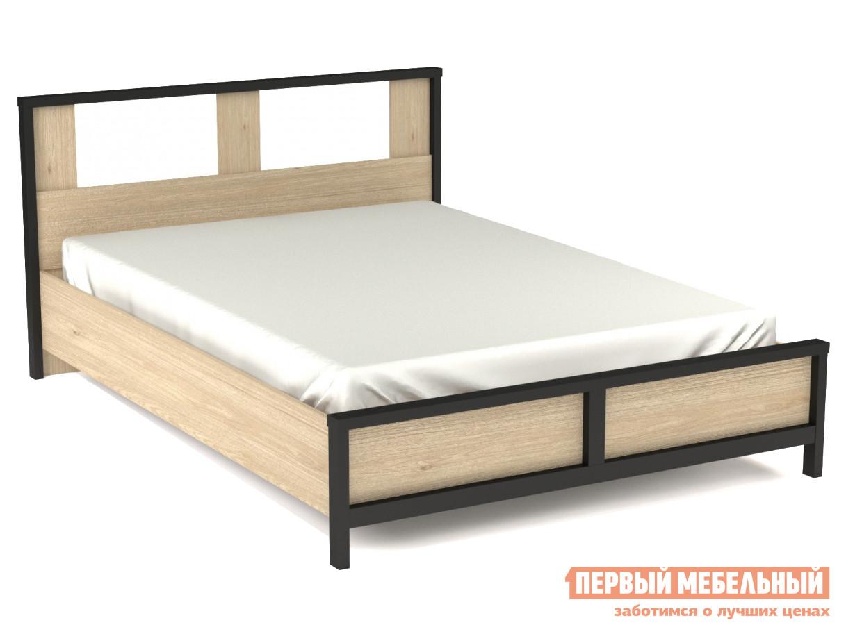 Двуспальная кровать Первый Мебельный Бостон с ПМ