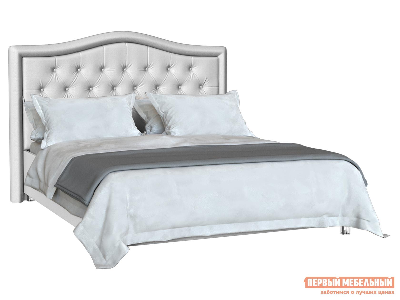 Двуспальная кровать Первый Мебельный Кровать Анкона с ортопедическим основанием